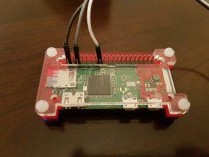 Raspberry Pi Zero W - connecting a PIR motion sensor